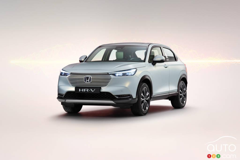 Honda HR-V 2022 (Asie, Europe), avant