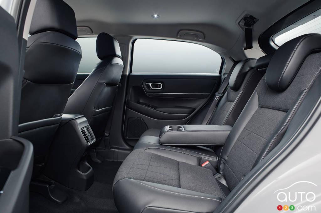 Honda HR-V 2022 (Asie, Europe), deuxième rangée de sièges