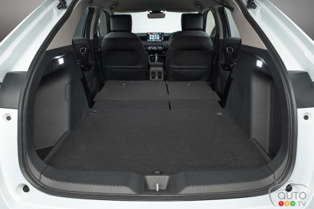 2022 Honda HR-V (Asia, Europe), cargo area with seats down