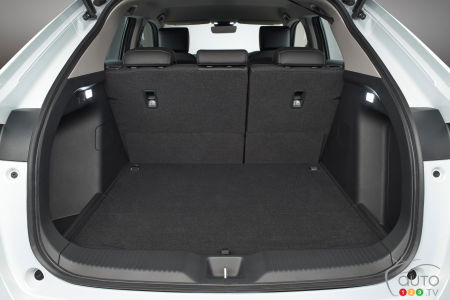 2022 Honda HR-V (Asia, Europe), cargo area