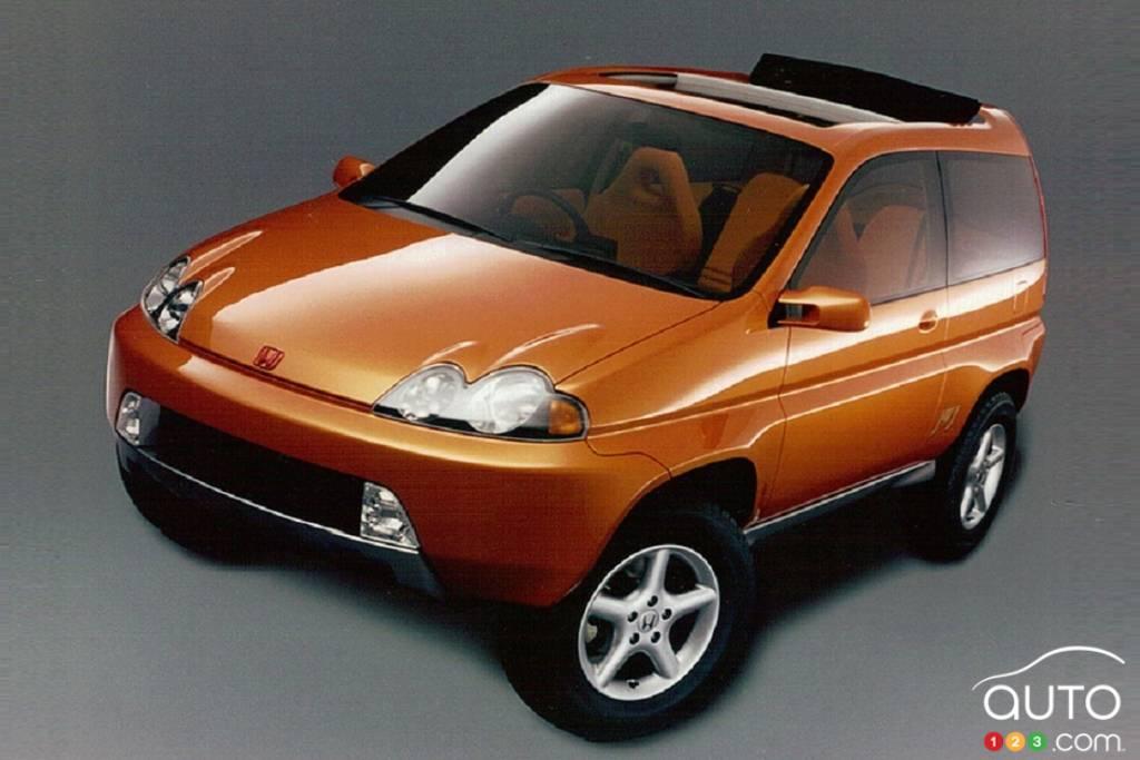 Le J-WJ, prototype du Honda HR-V, 1997
