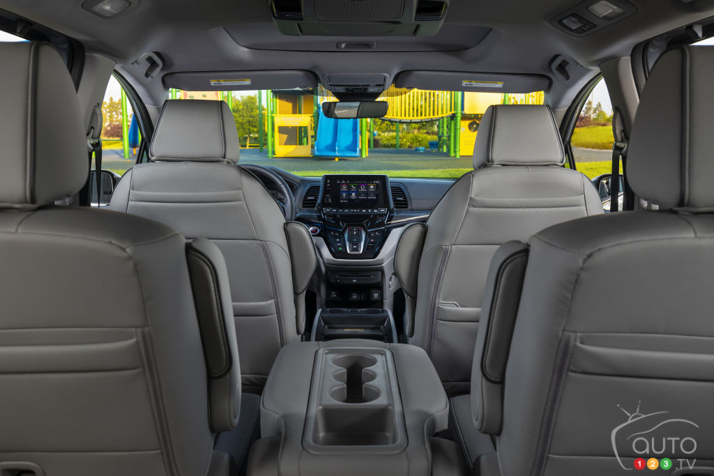 Honda Odyssey, intérieur