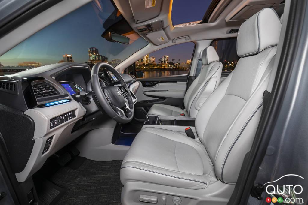 Honda Odyssey, première rangée