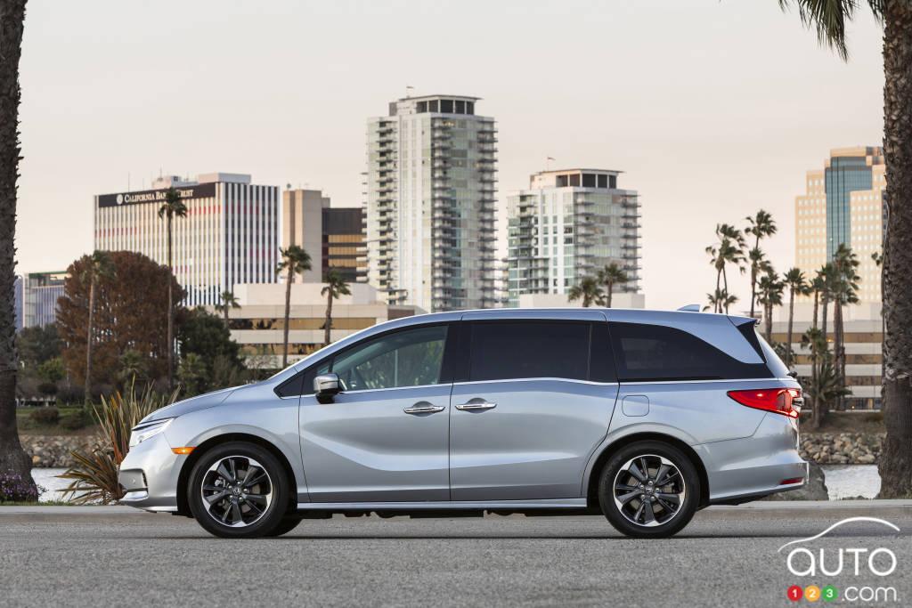 Honda Odyssey, profil