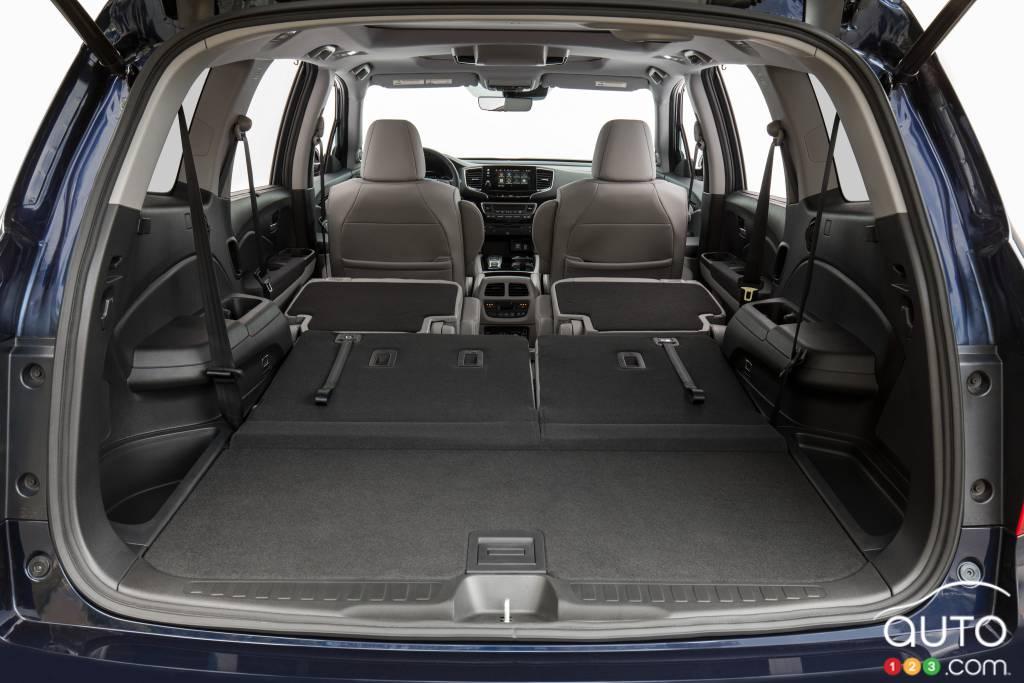 Honda Pilot, espace de chargement