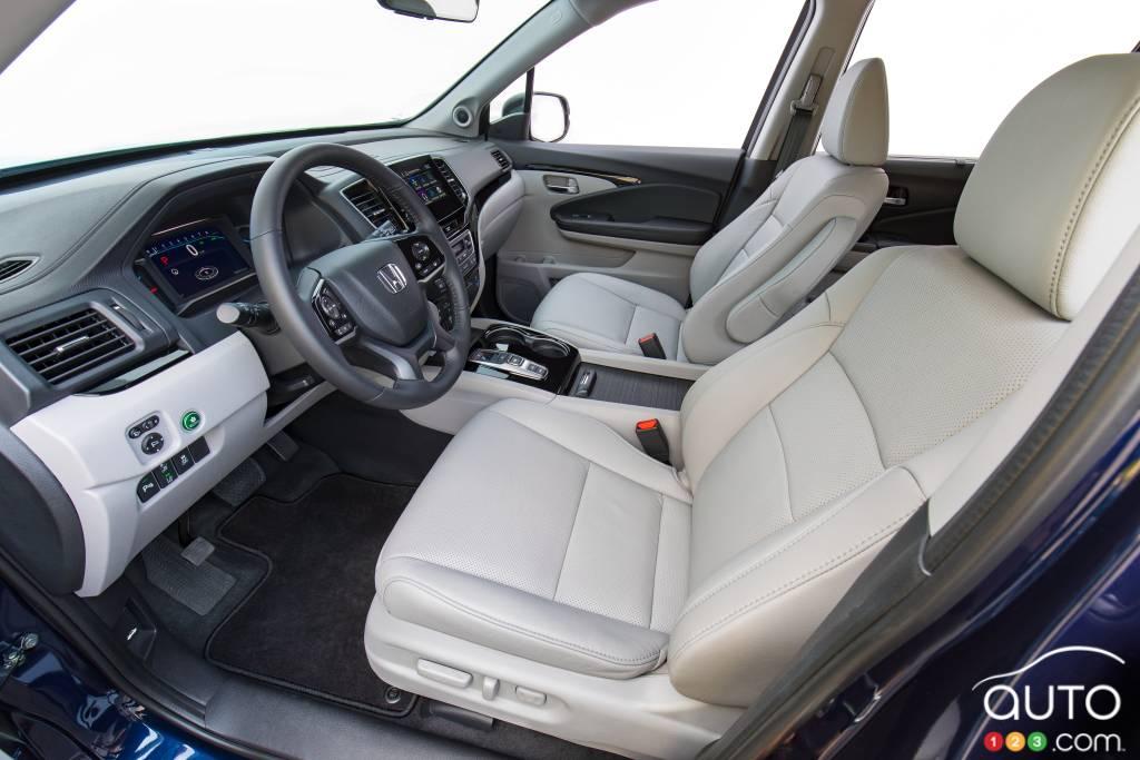 Honda Pilot, première rangée de sièges