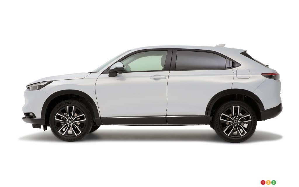Toyota Vezel (HR-V), profil