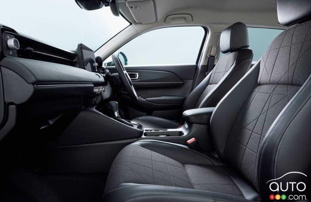 Toyota Vezel (HR-V), sièges