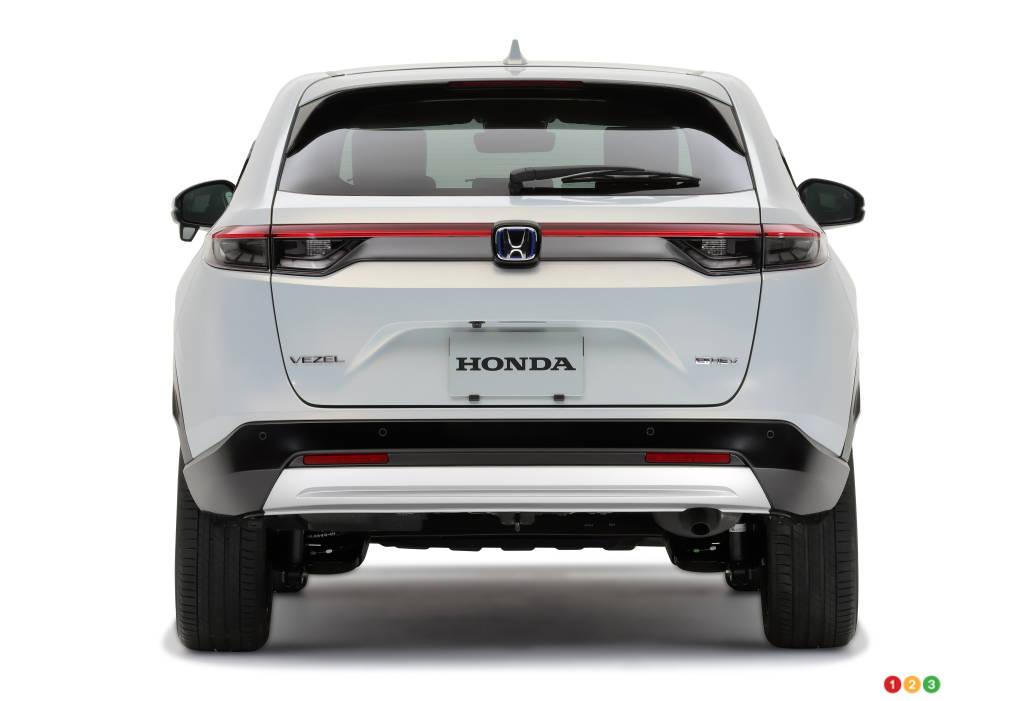 Toyota Vezel (HR-V), arrière