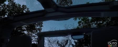 GMC Hummer, roof