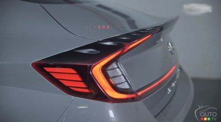 2021 Hyundai Sonata N Line, rear lights