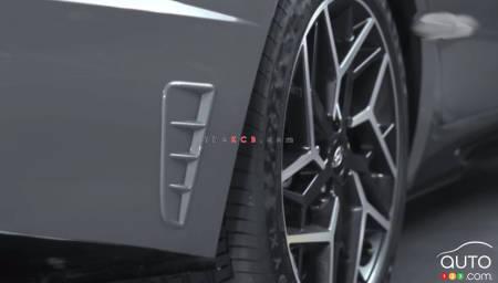 2021 Hyundai Sonata N Line, wheel