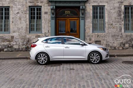 2020 Hyundai Accent, profile