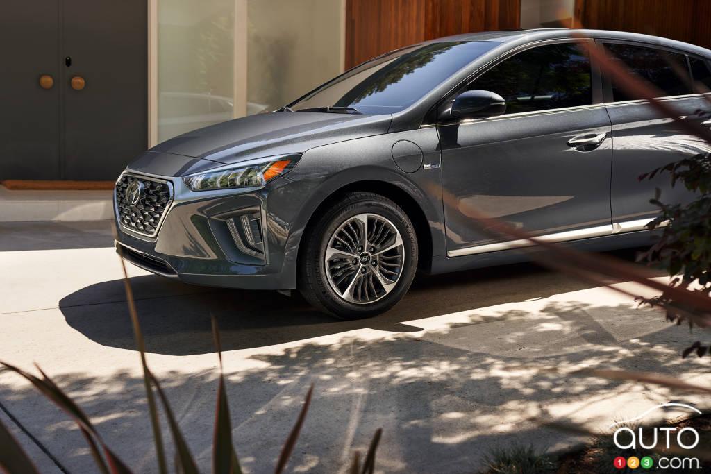 Hyundai Ioniq PHEV, profil
