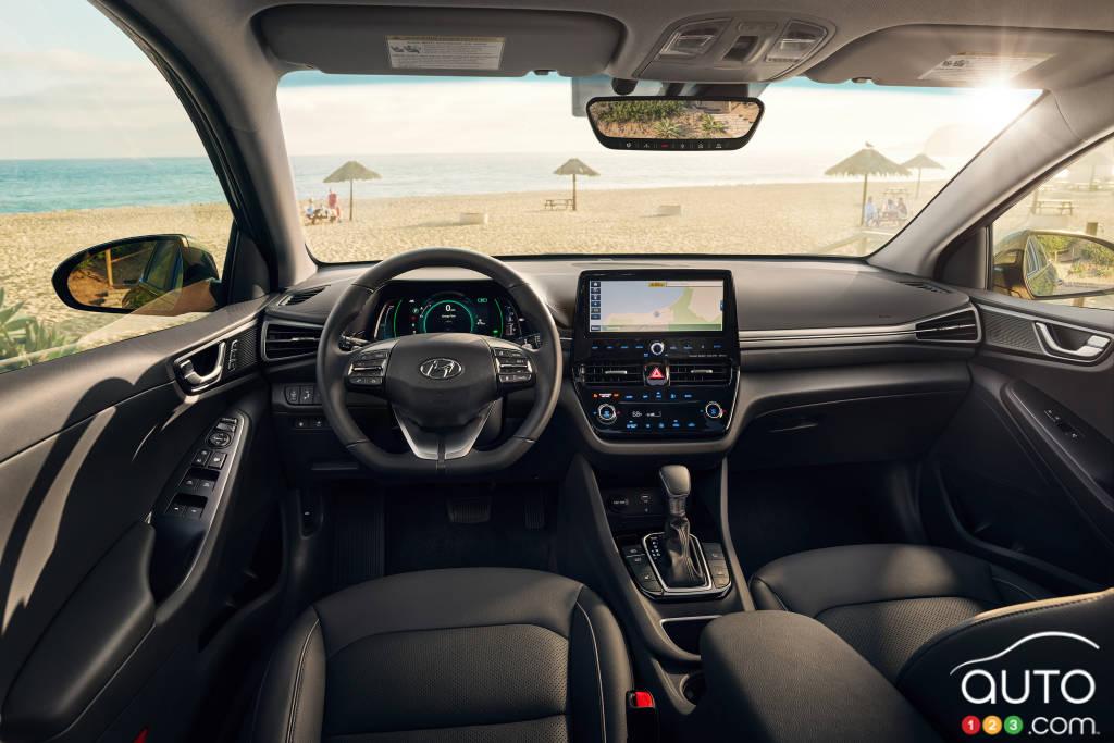 Hyundai Ioniq PHEV, intérieur