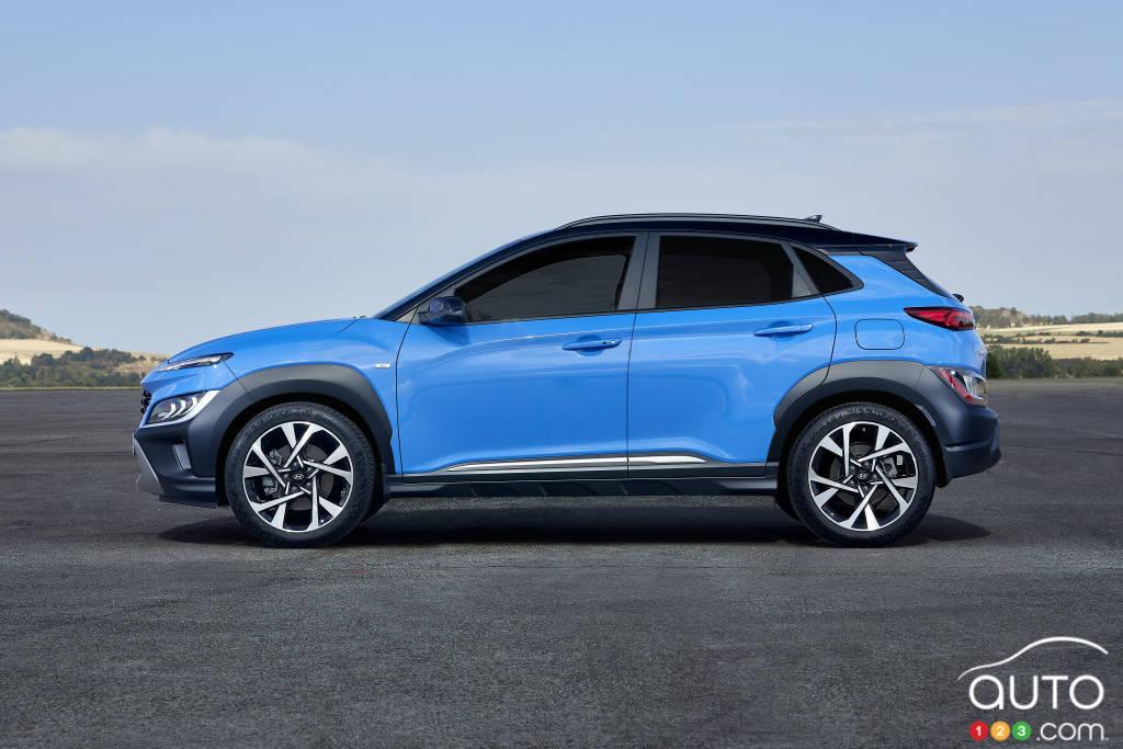Hyundai Kona 2020, profil