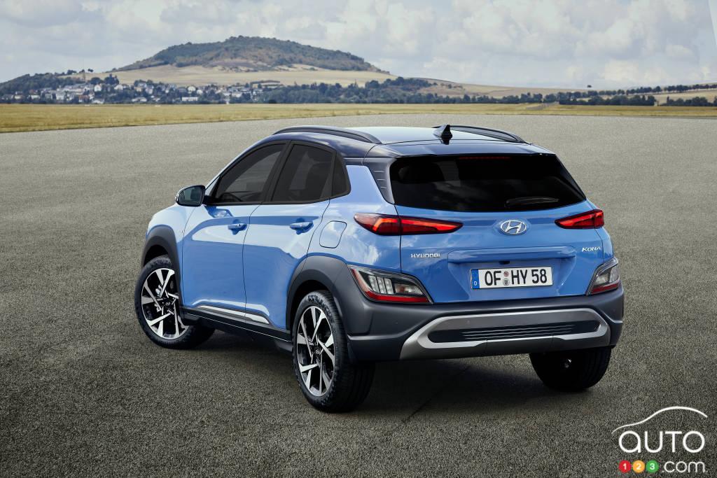 Hyundai Kona 2020, trois-quarts arrière