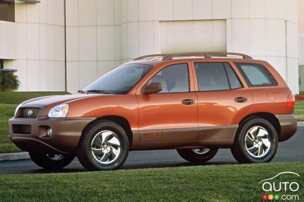 Prototype Hyundai Santa Fe, 2000