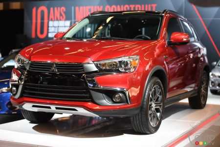 The new Mitsubishi RVR
