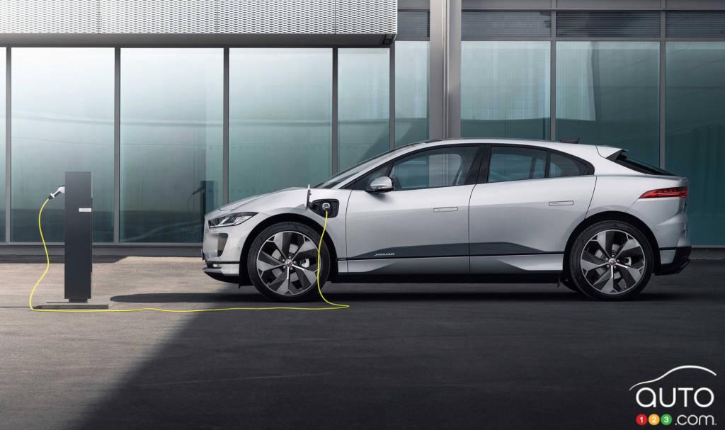 Jaguar I-Pace 2021, profil