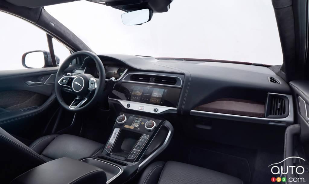 Jaguar I-Pace 2021, intérieur