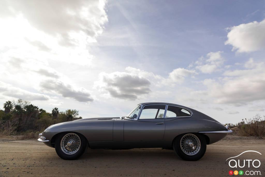 Jaguar XK-E 1961, profil