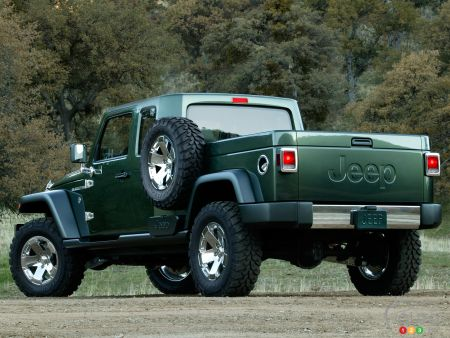 Prototype Jeep Gladiator (2005)