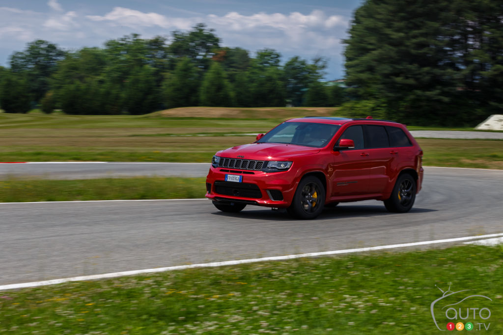 Jeep Grand Cherokee Trackhawk, profil