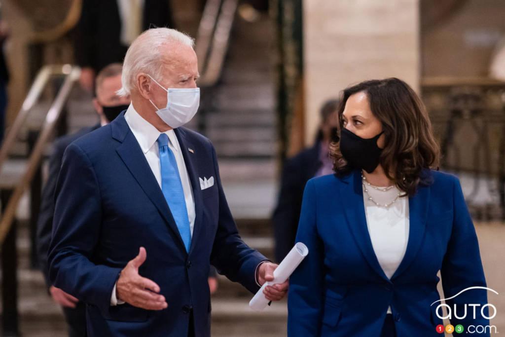 Le président Joe Biden et la vice-présidente Kamala Harris