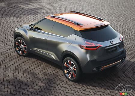 Nissan Kicks Concept, unveiled in 2014