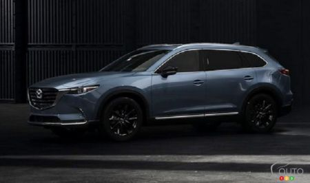 2021 Mazda CX-9, Kuro Edition