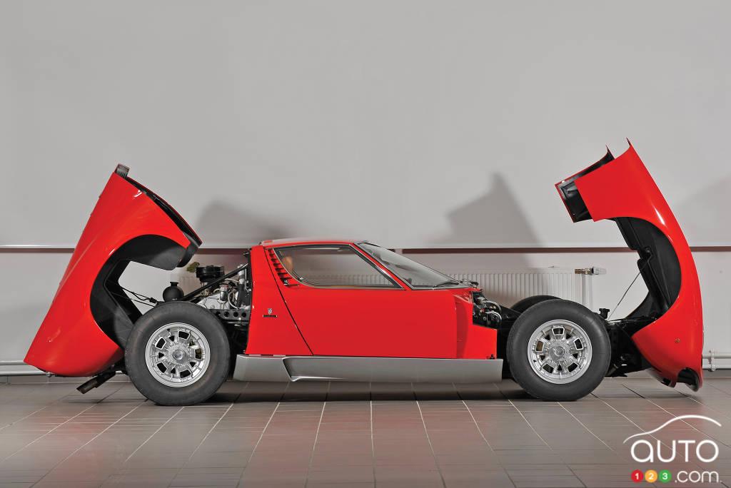 Lamborghini Miura 1966, profil