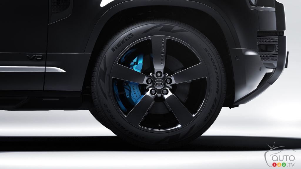 Land Rover Defender James Bond Edition, roue