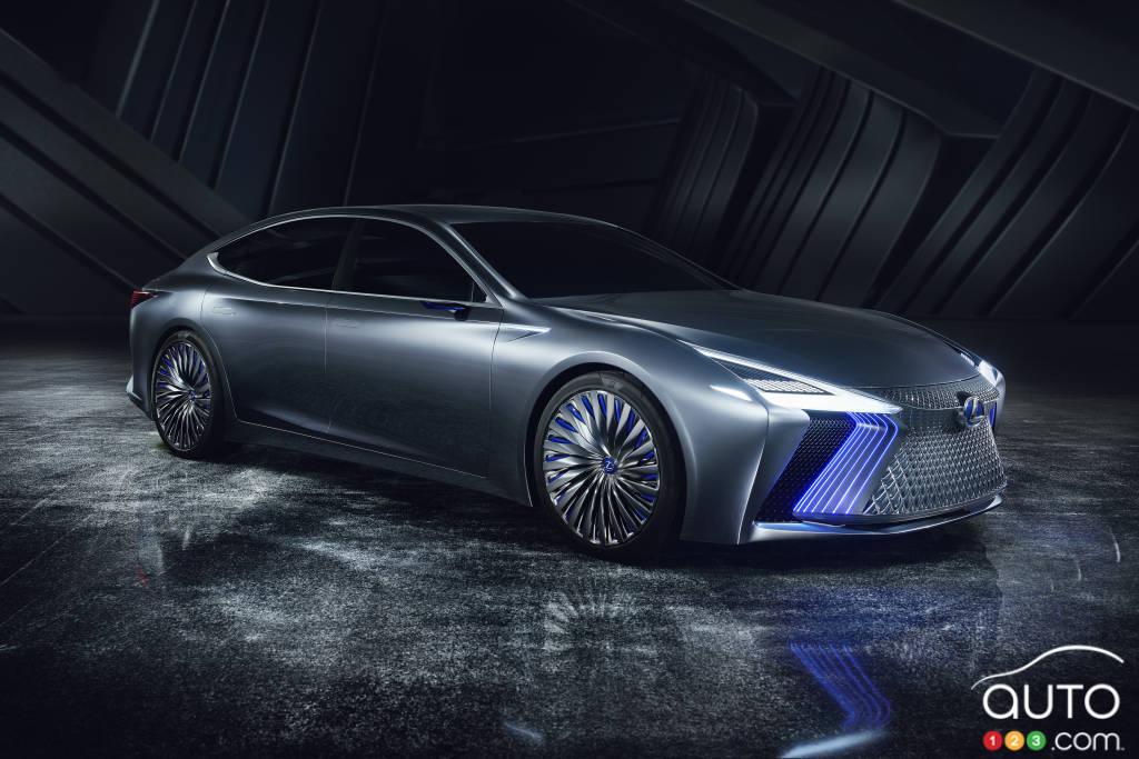 Le prototype Lexus LS+, 2017