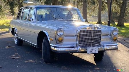 1969 Mercedes-Benz 600, three-quarters front