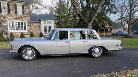1969 Mercedes-Benz 600, profile