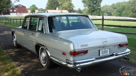 1969 Mercedes-Benz 600, three-quarters rear