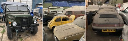 Collection of vintage cars in London, img. 2