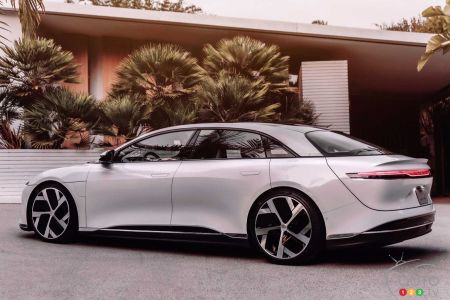 Lucid Air, profil
