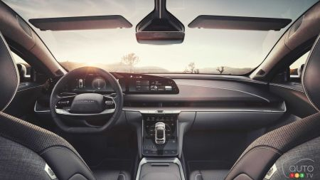 Lucid Air, interior