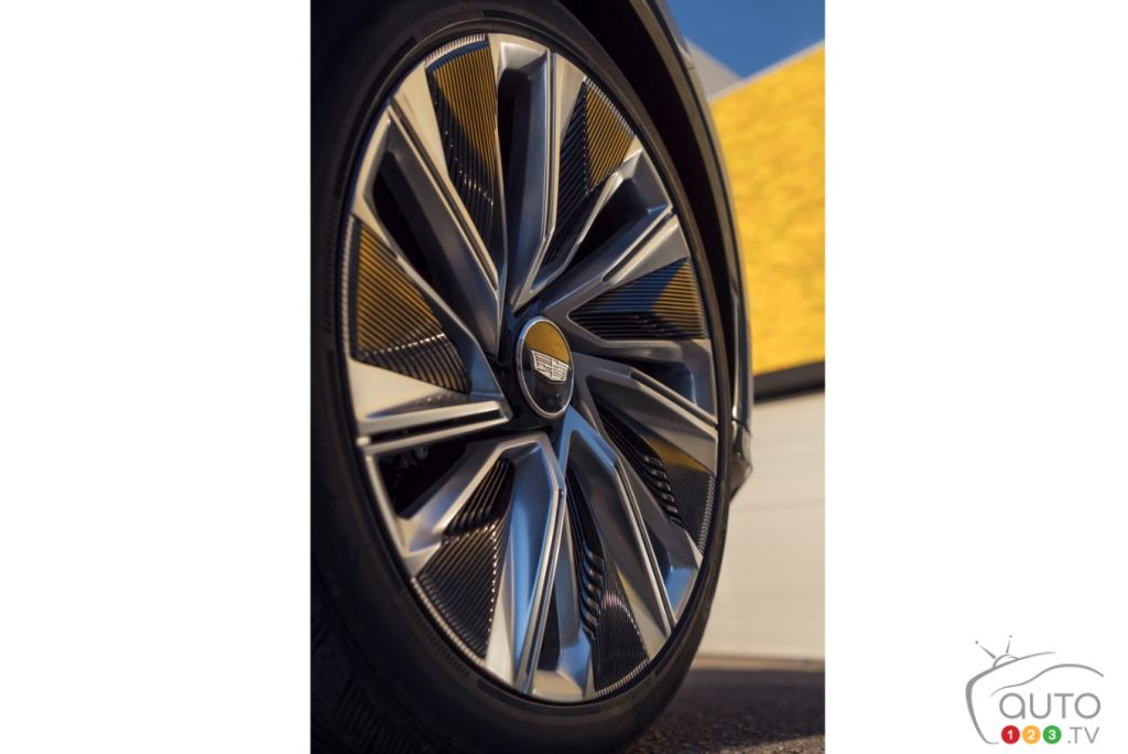 Cadillac Lyriq, roues