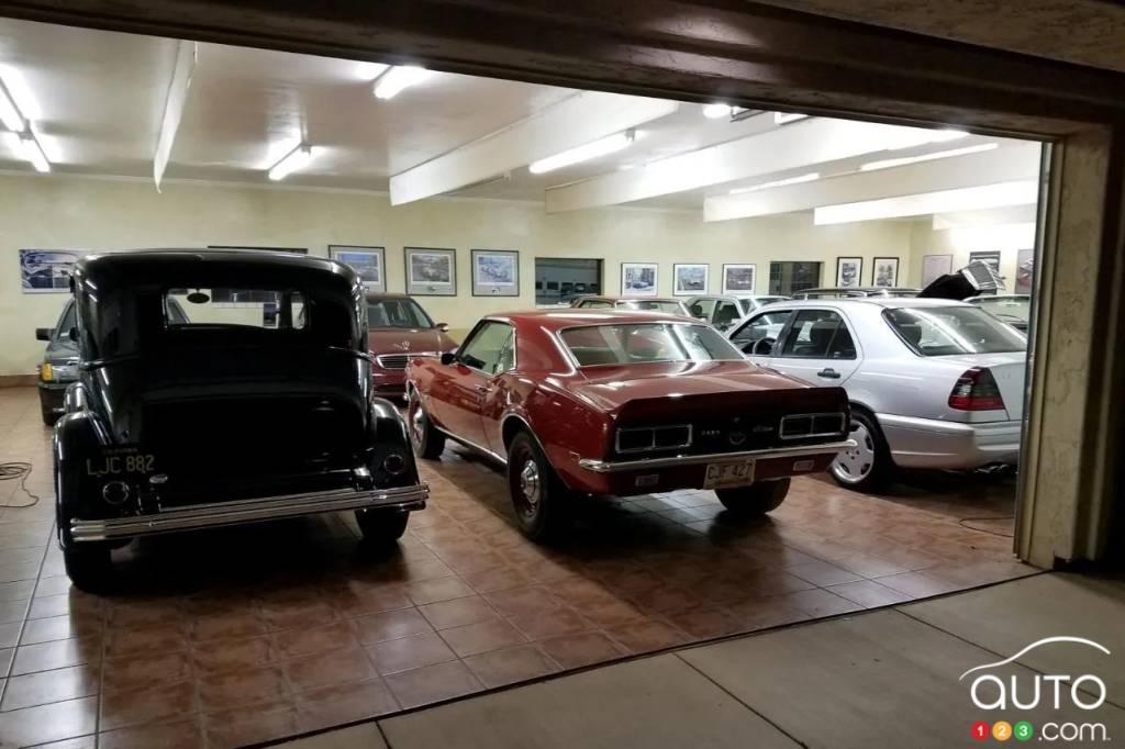 Le garage pour 100 voitures, fig. 2