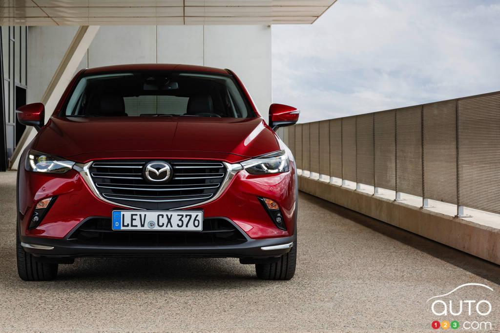 Mazda CX-3 2020, avant
