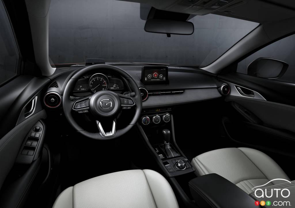Mazda CX-3 2020, intérieur