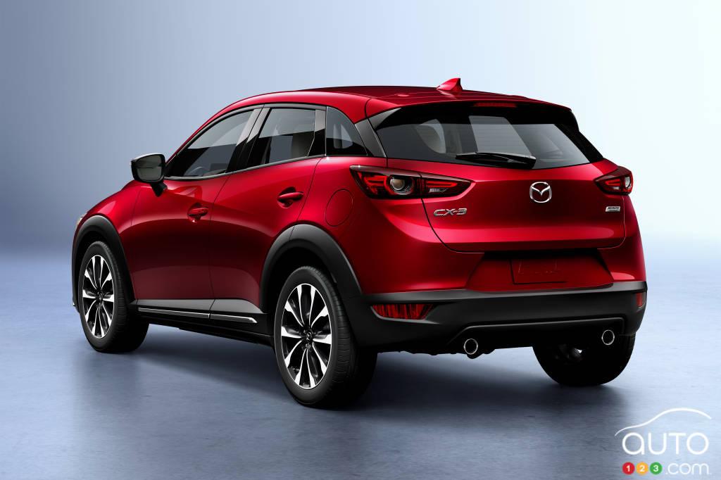 Mazda CX-3 2020, trois quarts arrière