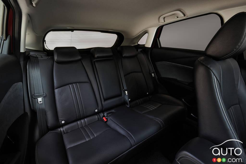 Mazda CX-3 2020, deuxième rangée