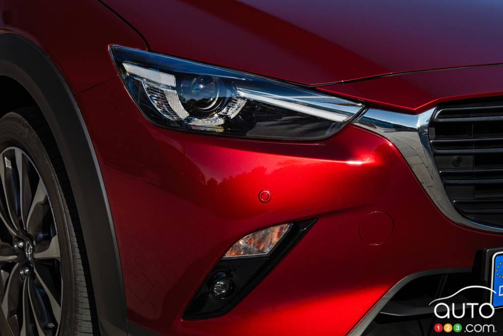 Mazda CX-3 2020, phare