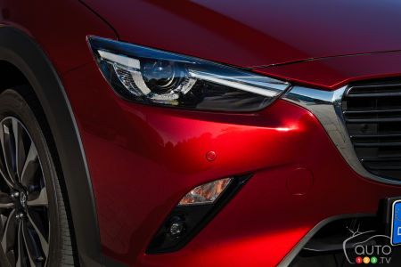 2020 Mazda CX-3, headlight