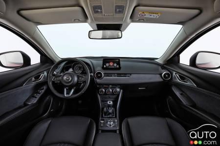 2020 Mazda CX-3, interior