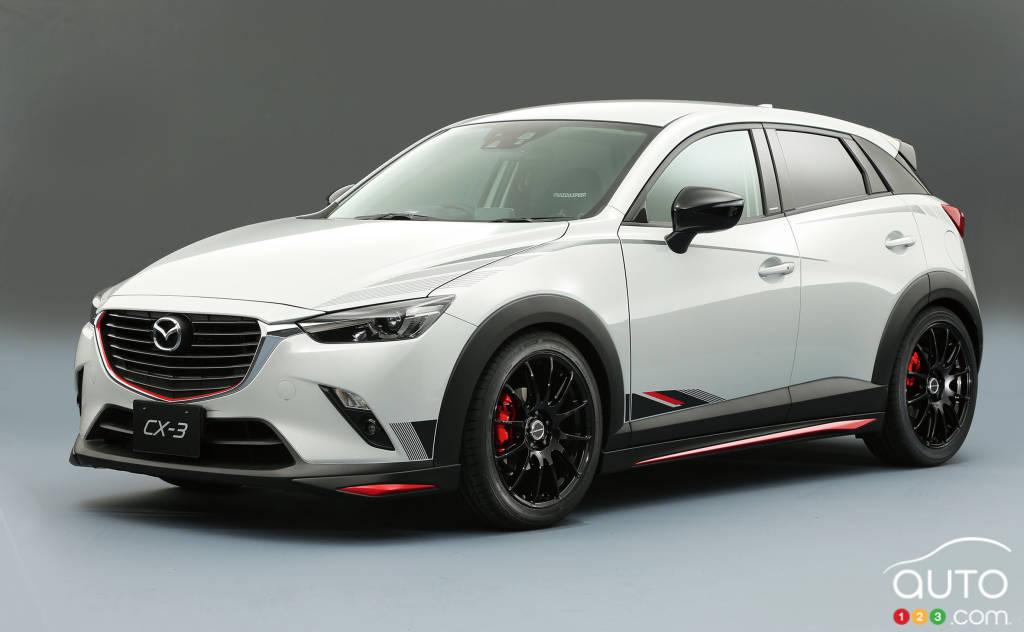 Prototype Mazda CX-3 Racing, 2015